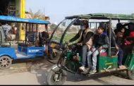काशीपुर : आपके शहर कावायु प्रदूषण रोकने में सहायक बनते जा रहे है ई-रिक्शा !