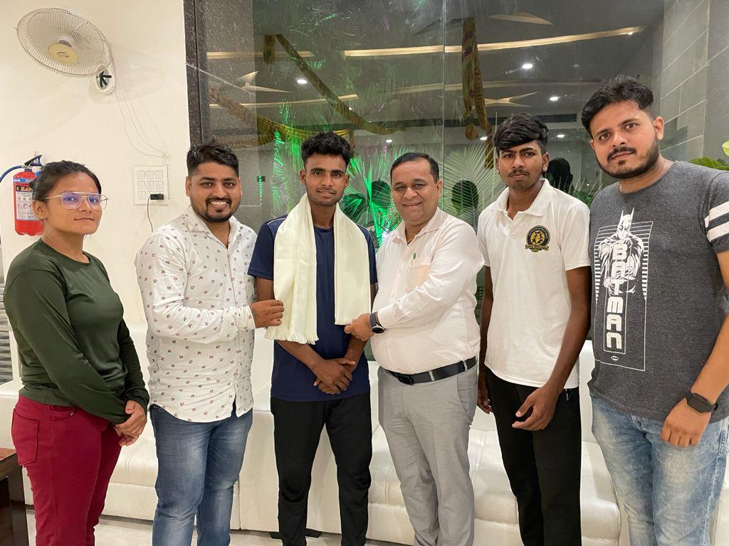 5वीं एशियन जु–जित्सु प्रतियोगिता के लिए कमल सिंह को किया रवाना, आर्थिक सहायता के लिये मुख्यमंत्री,खेल मंत्री का जताया आभार
