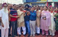 विधायक राजेश शुक्ला ने किया डा० मेहर सिंह कामरा द्धार का लोकार्पण