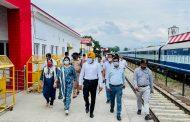 रेलवे बोर्ड की यात्री सुविधा समिति (पीएसी) उत्तर क्षेत्र ने लालकुआँ रेलवे स्टेशन का निरीक्षण किया