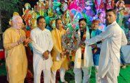 विधायक राजेश शुक्ला ने किया मां दुर्गा जागरण का शुभारंभ